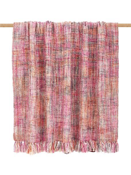 Manta texturizada Tye, 100%acrílico, Multicolor, An 130 x L 170 cm