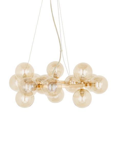 Lampa wisząca Splendor, Odcienie miedzi, Ø 58 x W 22 cm