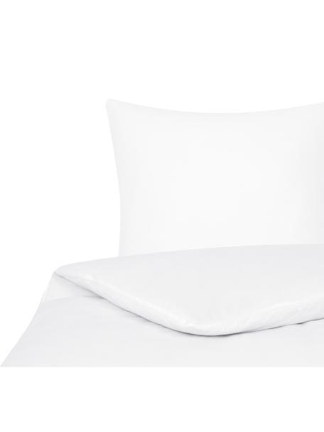 Flanell-Bettwäsche Biba in Weiss, Webart: Flanell Flanell ist ein s, Weiss, 135 x 200 cm + 1 Kissen 80 x 80 cm