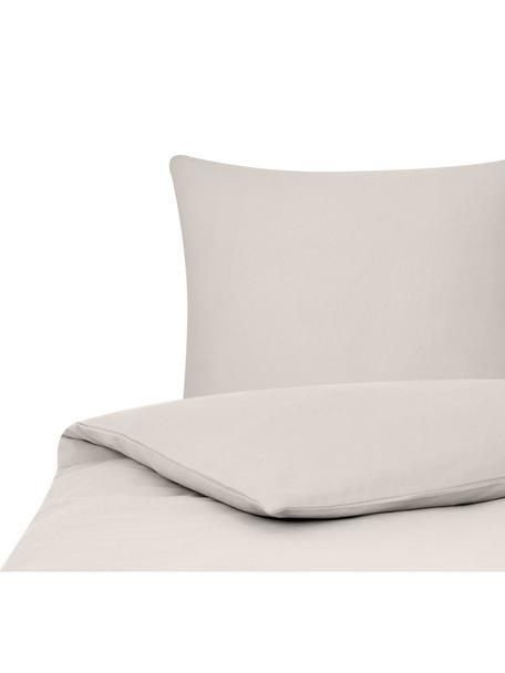 Flanell-Bettwäsche Biba in Beige, Webart: Flanell Flanell ist ein k, Beige, 155 x 220 cm + 1 Kissen 80 x 80 cm