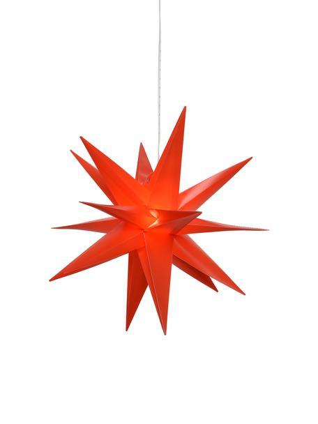 Stella a LED a batteria Zing, Rosso, Ø 30 cm