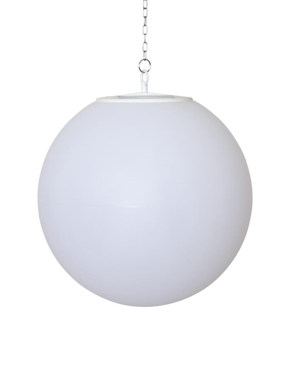 Solar Hängelampe Globy, Lampenschirm: Kunststoff, Weiss, Ø 30 x H 29 cm