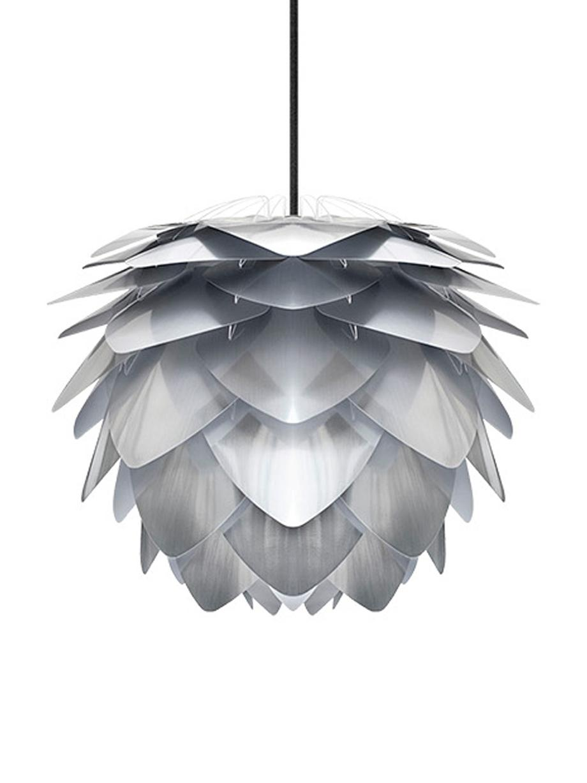 Hanglamp Silvia, bouwpakket, Polypropyleen, Staalkleurig, Ø 32 x H 25 cm