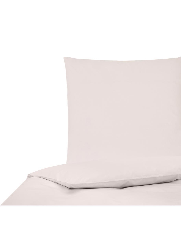 Perkal dekbedovertrek Elsie, Weeftechniek: perkal Draaddichtheid 200, Roze, 140 x 200 cm