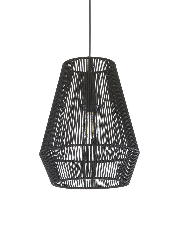Lampa wisząca Hadi, Czarny, Ø 30 x W 38 cm