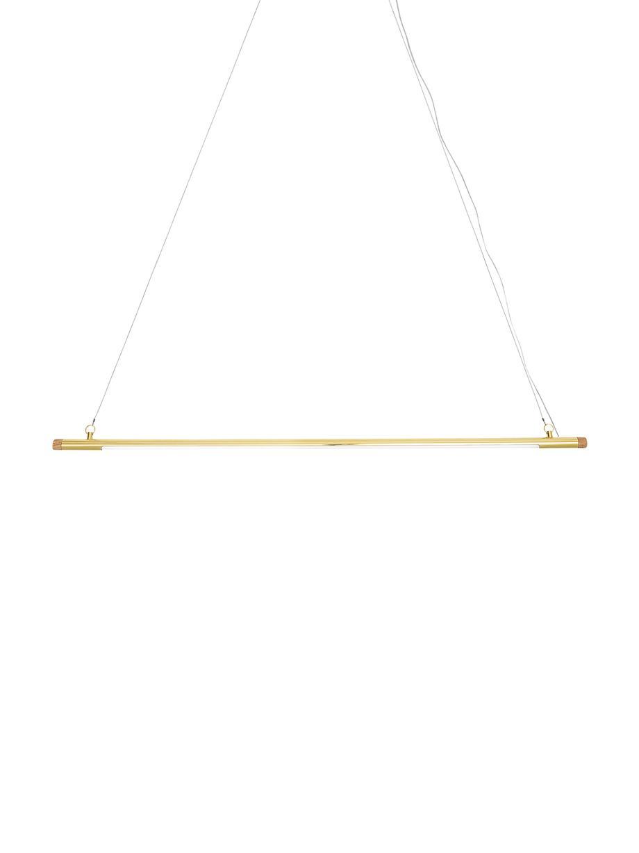 LED hanglamp Hermann, Messingkleurig, 124 x 122 cm