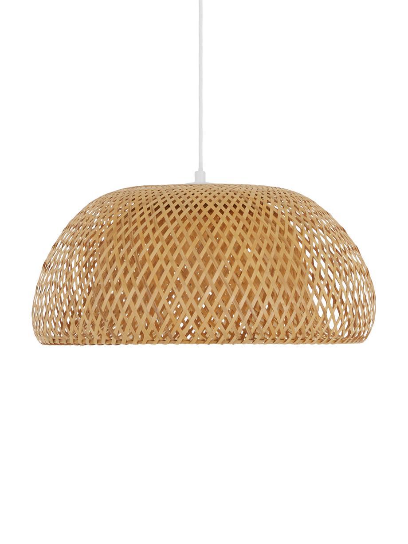 Lámpara de techo de bambú de diseño Eden, Pantalla: bambú, Cable: plástico El bambú es una , Bambú, Ø 45 x Al 21 cm