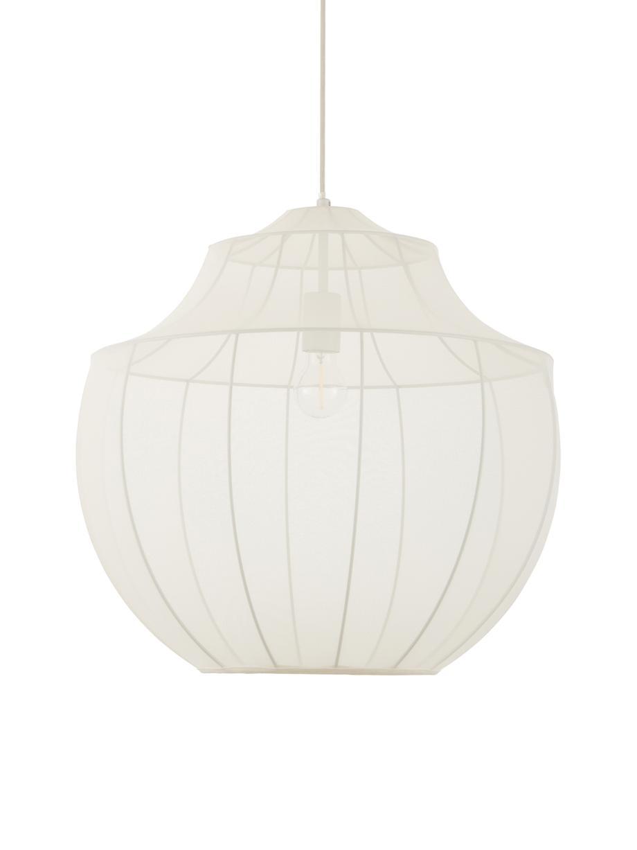 Lampa wisząca z siatki Balloon, Kremowy, Ø 55 cm x W 52 cm