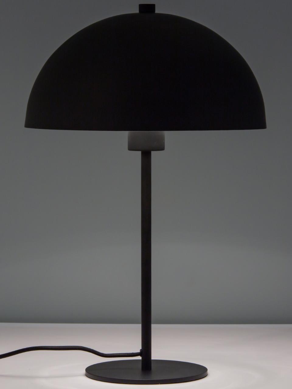 Lampa stołowa Matilda, Czarny, Ø 29 x W 45 cm