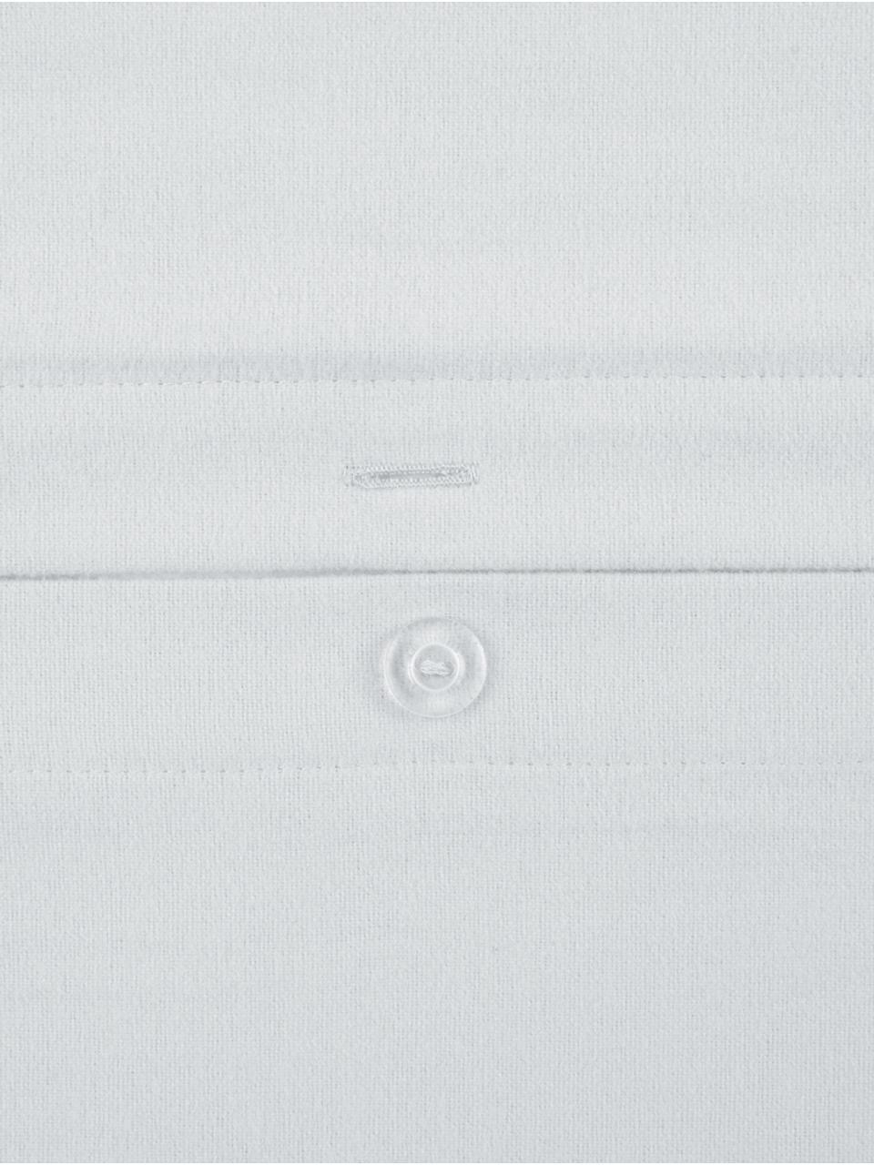 Flanell-Bettwäsche Biba in Hellgrau, Webart: Flanell Flanell ist ein k, Hellgrau, 155 x 220 cm + 1 Kissen 80 x 80 cm