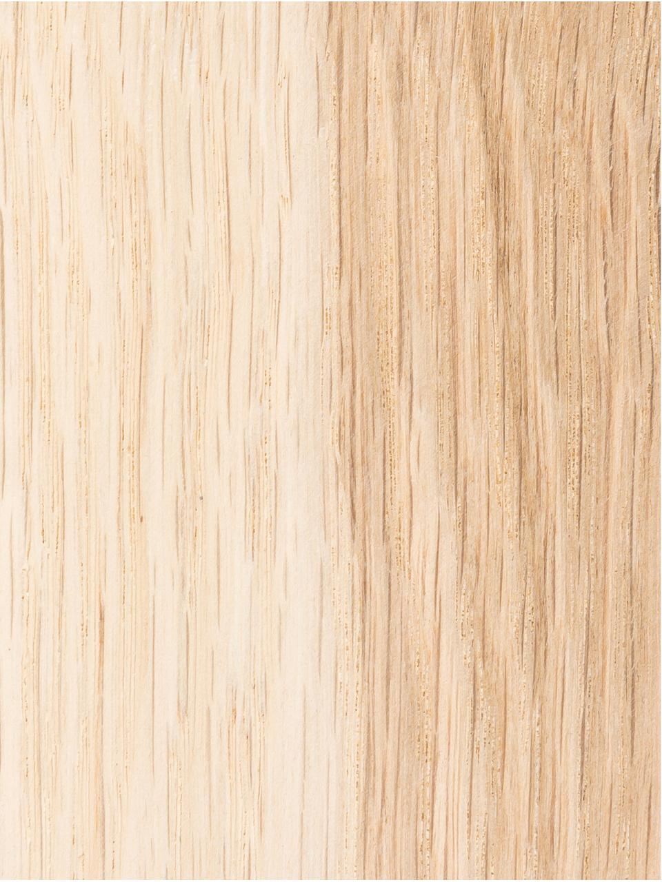 Tabouret bois de chêne massif Block, Chêne