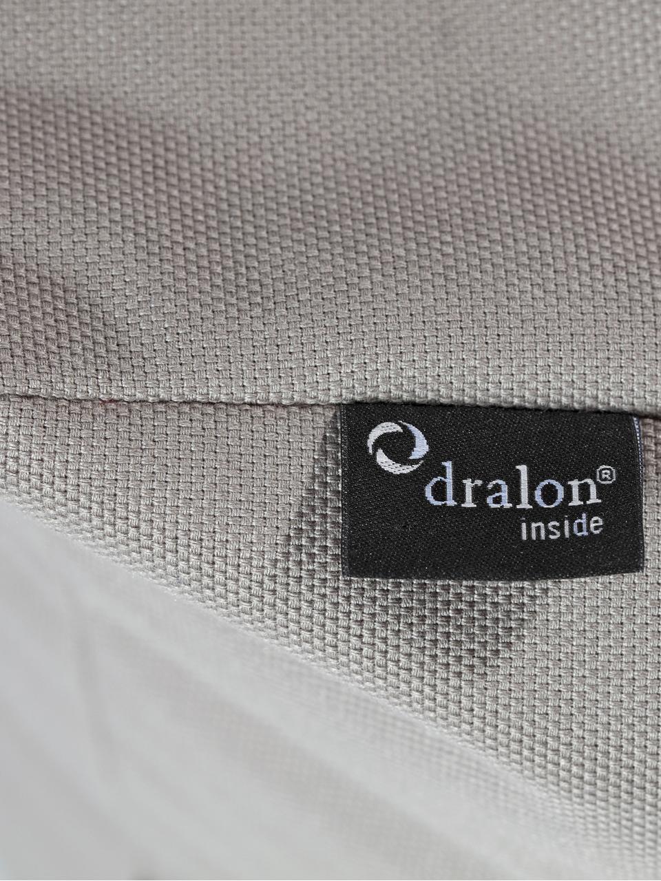 Pouf da interno-esterno Loft, Rivestimento: 100% poliacrilico Dralon , Grigio, Larg. 80 x Prof. 80 cm
