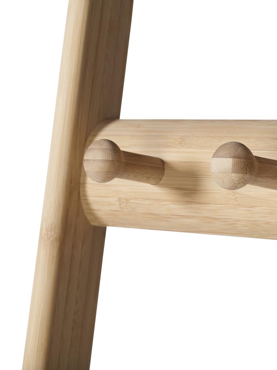 Wandgarderobe Noble aus Holz, Bambus, Bambus, 70 x 180 cm