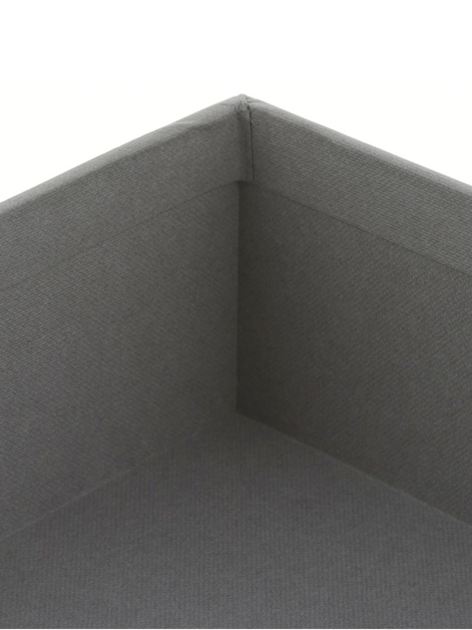 Dokumenten-Ablage Trey, Fester, laminierter Karton, Grau, 23 x 21 cm