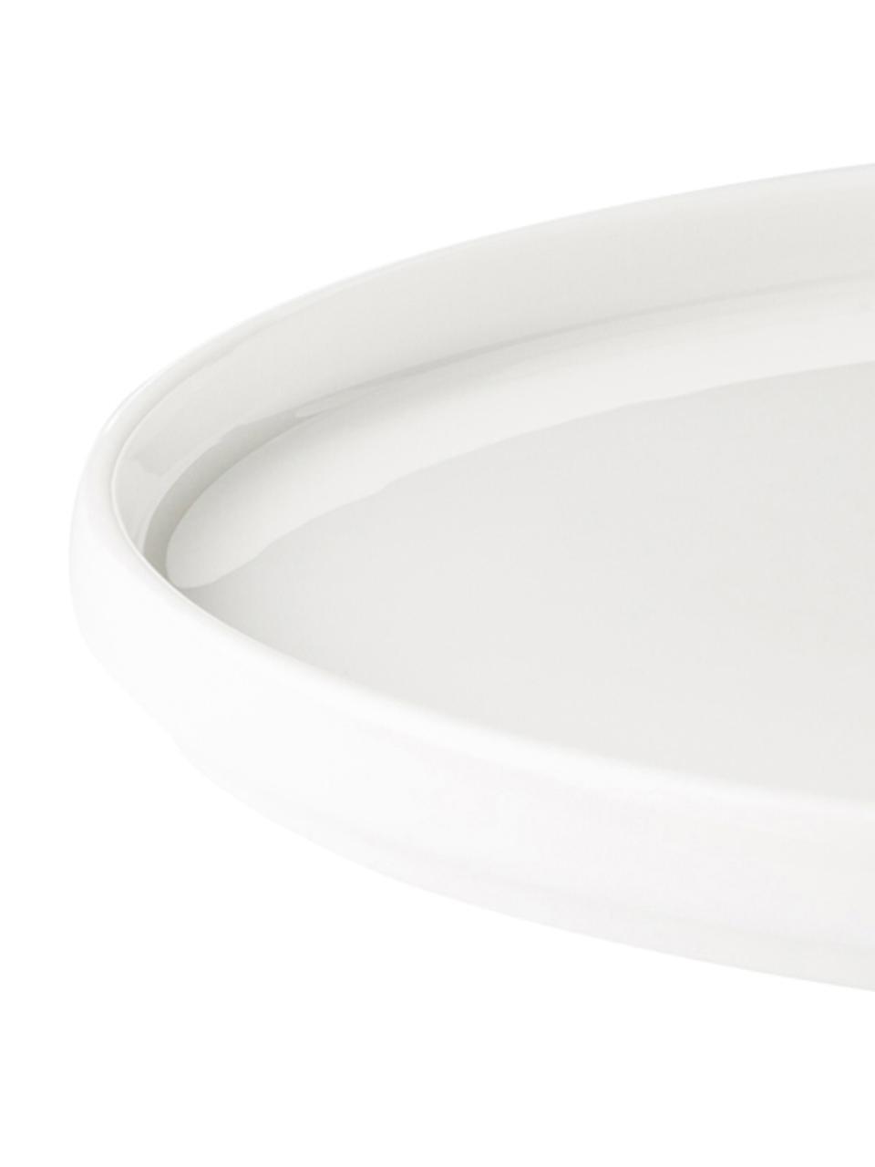 Design Frühstücksteller Personal mit Buchstaben (Varianten von A bis Z), Fine Bone China (Porzellan) Fine Bone China ist ein Weichporzellan, das sich besonders durch seinen strahlenden, durchscheinenden Glanz auszeichnet., Weiss, Schwarz, Teller M