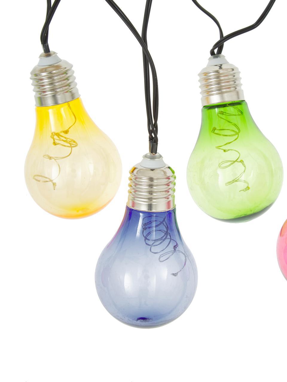 LED-Lichterkette Glow, 150 cm, Merhfarbig, L 190 cm