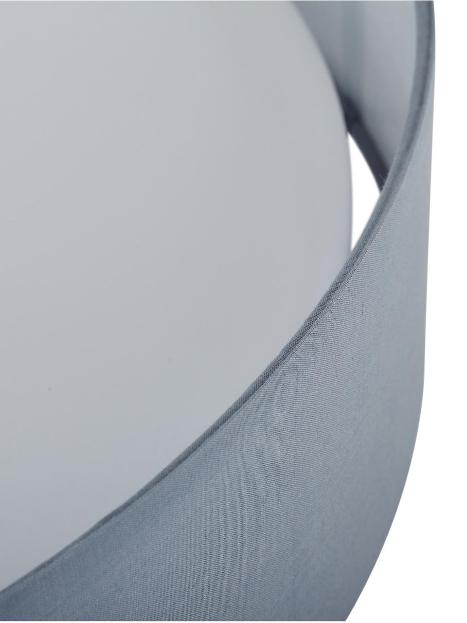 Plafoniera a LED grigia Helen, Struttura: metallo, Grigio, Ø 52 x Alt. 11 cm