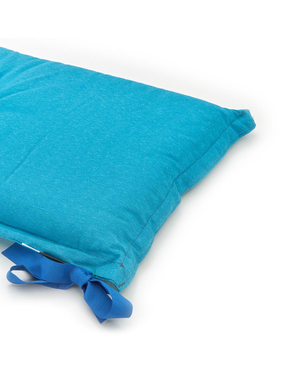 Nakładka na ławkę Panama, Tapicerka: 50% bawełna, 45% polieste, Turkusowy, S 48 x D 120 cm