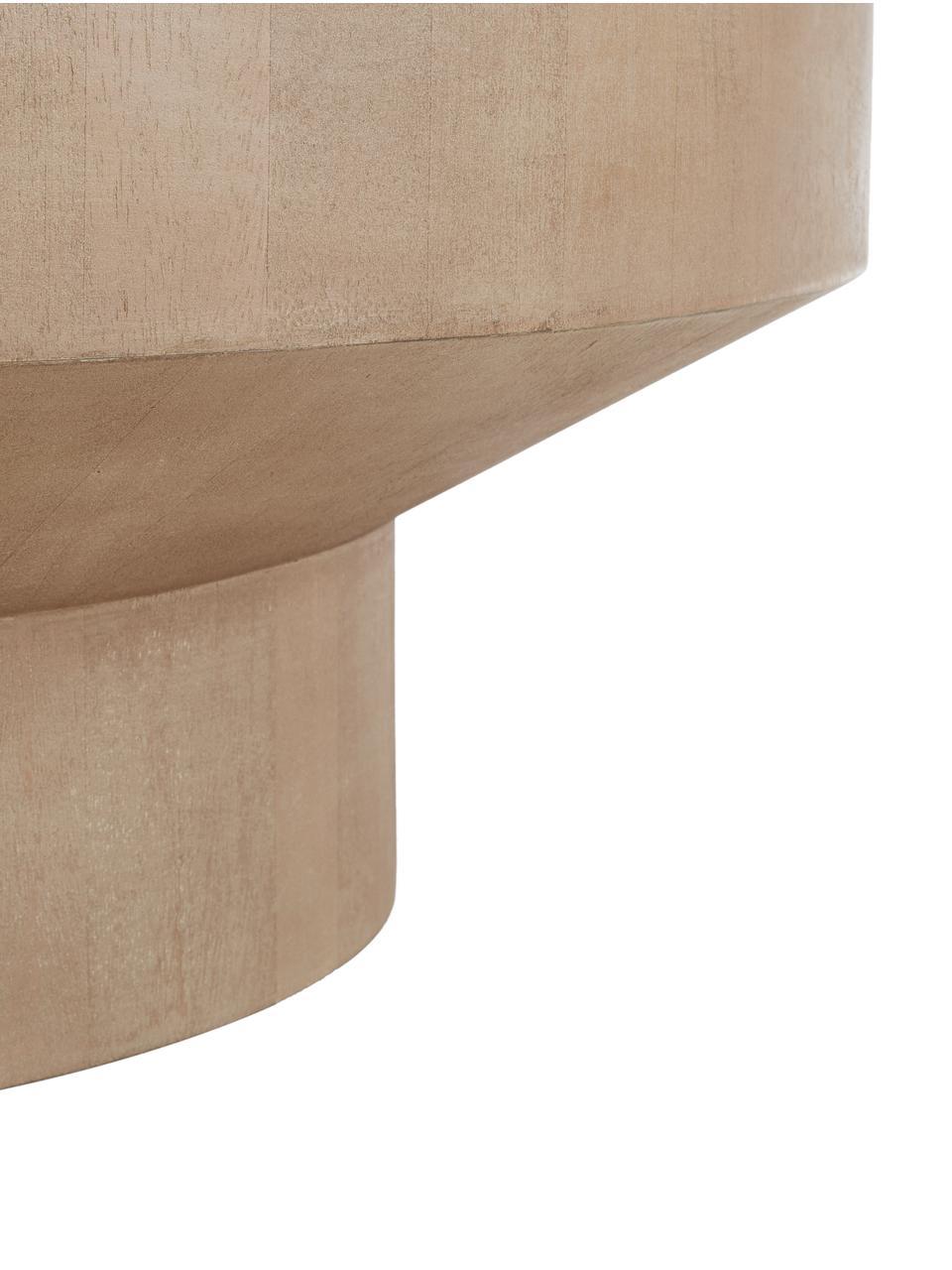 Table basse en bois de manguier Benno, Gris