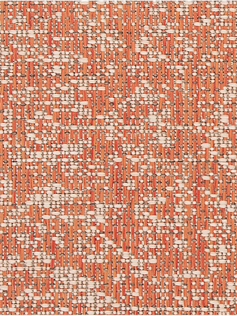 In- & Outdoor-Läufer Hatta im Vintage Look, 100% Polypropylen, Orangenrot, Beige, 70 x 200 cm