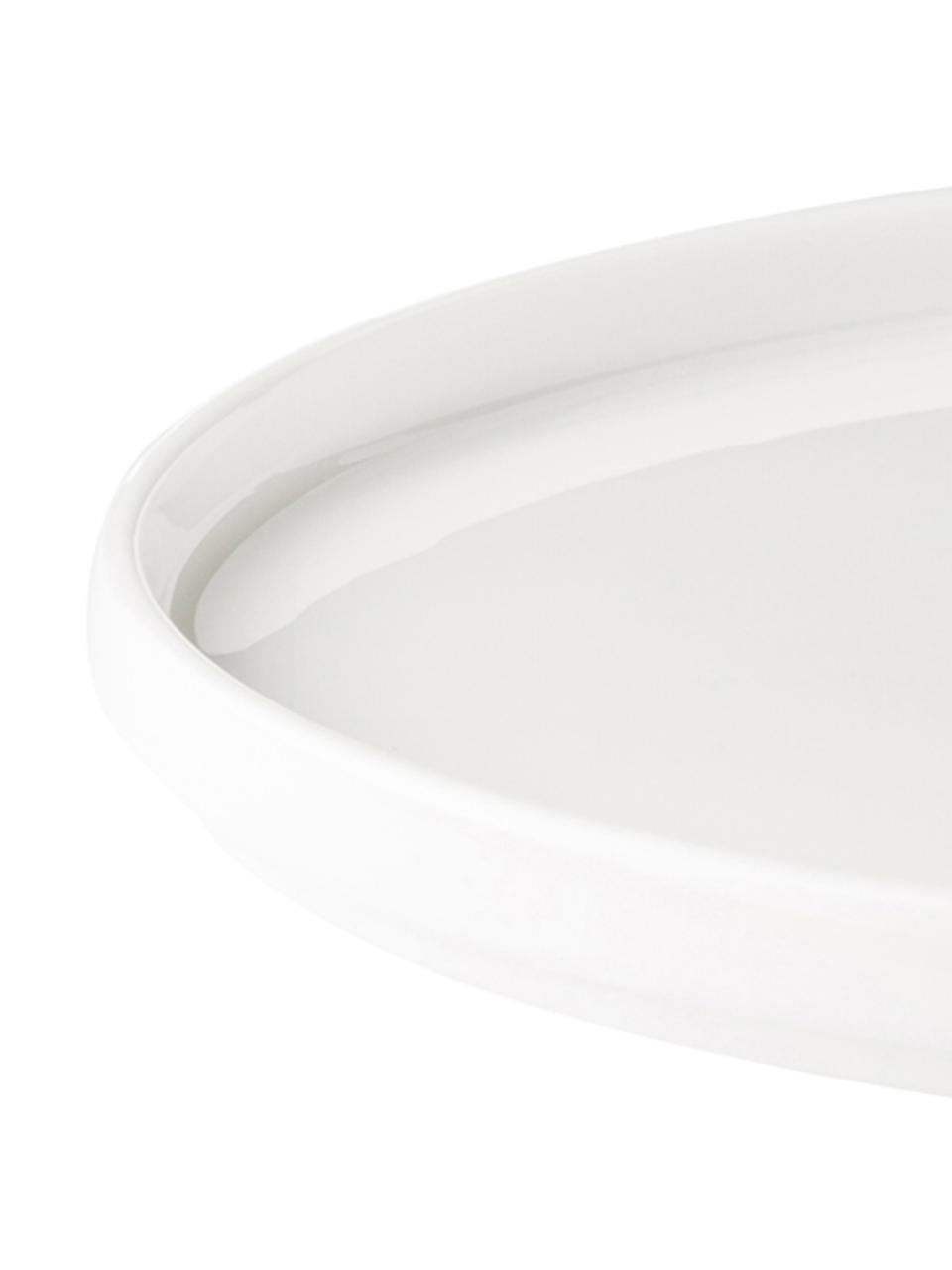 Assiette Personal (modèles de A à Z), Blanc, noir