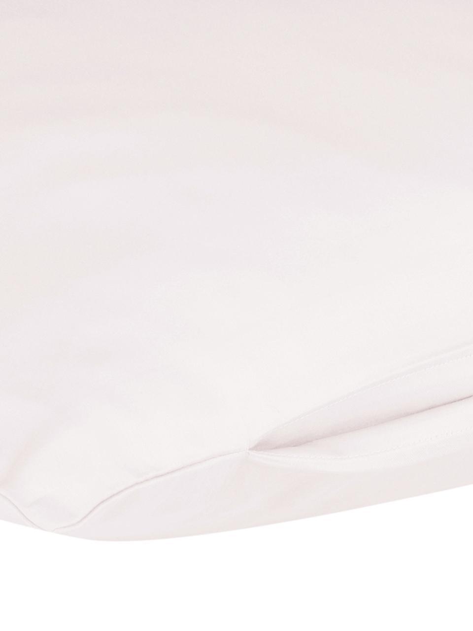 Baumwollsatin-Kissenbezüge Comfort in Rosa, 2 Stück, Webart: Satin Fadendichte 250 TC,, Rosa, 40 x 80 cm