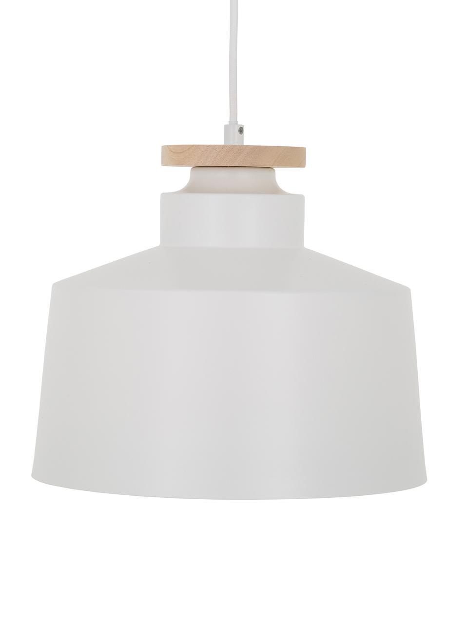 Lampa wisząca Malma, Biały, Ø 30 x W 26 cm