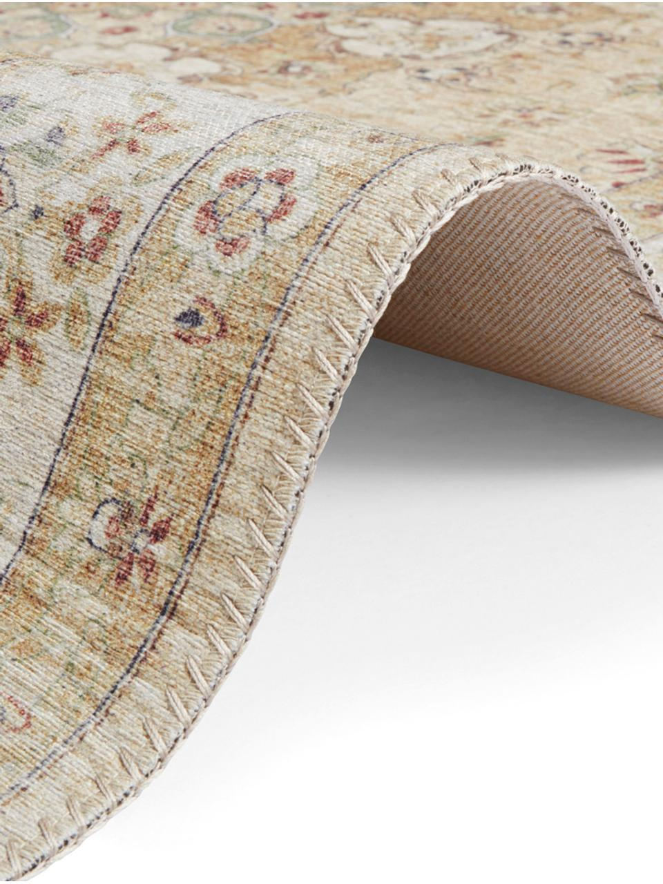Teppich Nain im Orient Style, Gelb, Beigetöne, B 200 x L 290 cm (Größe L)