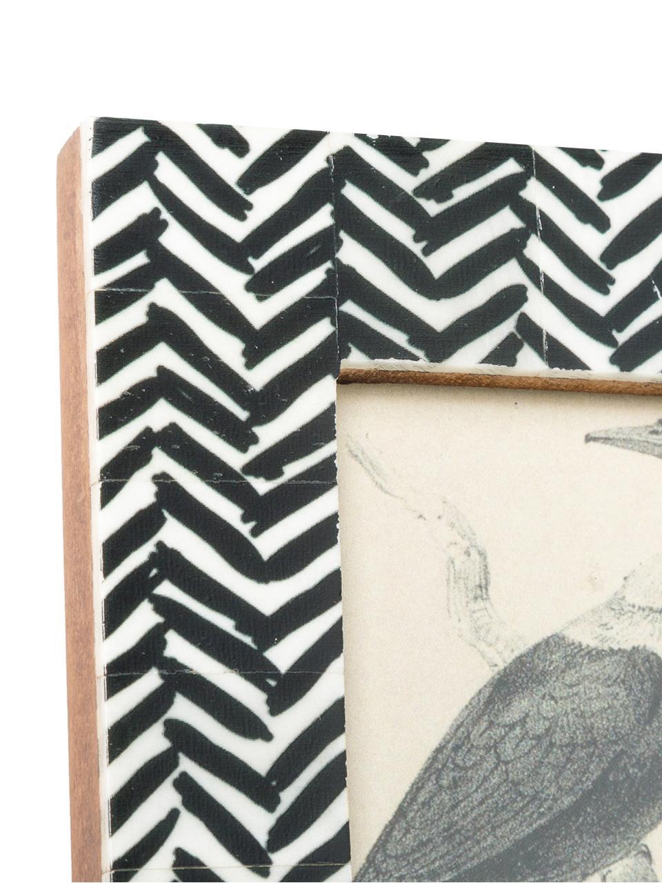 Ramka na zdjęcia Zack, Czarny, biały, 10 x 15 cm