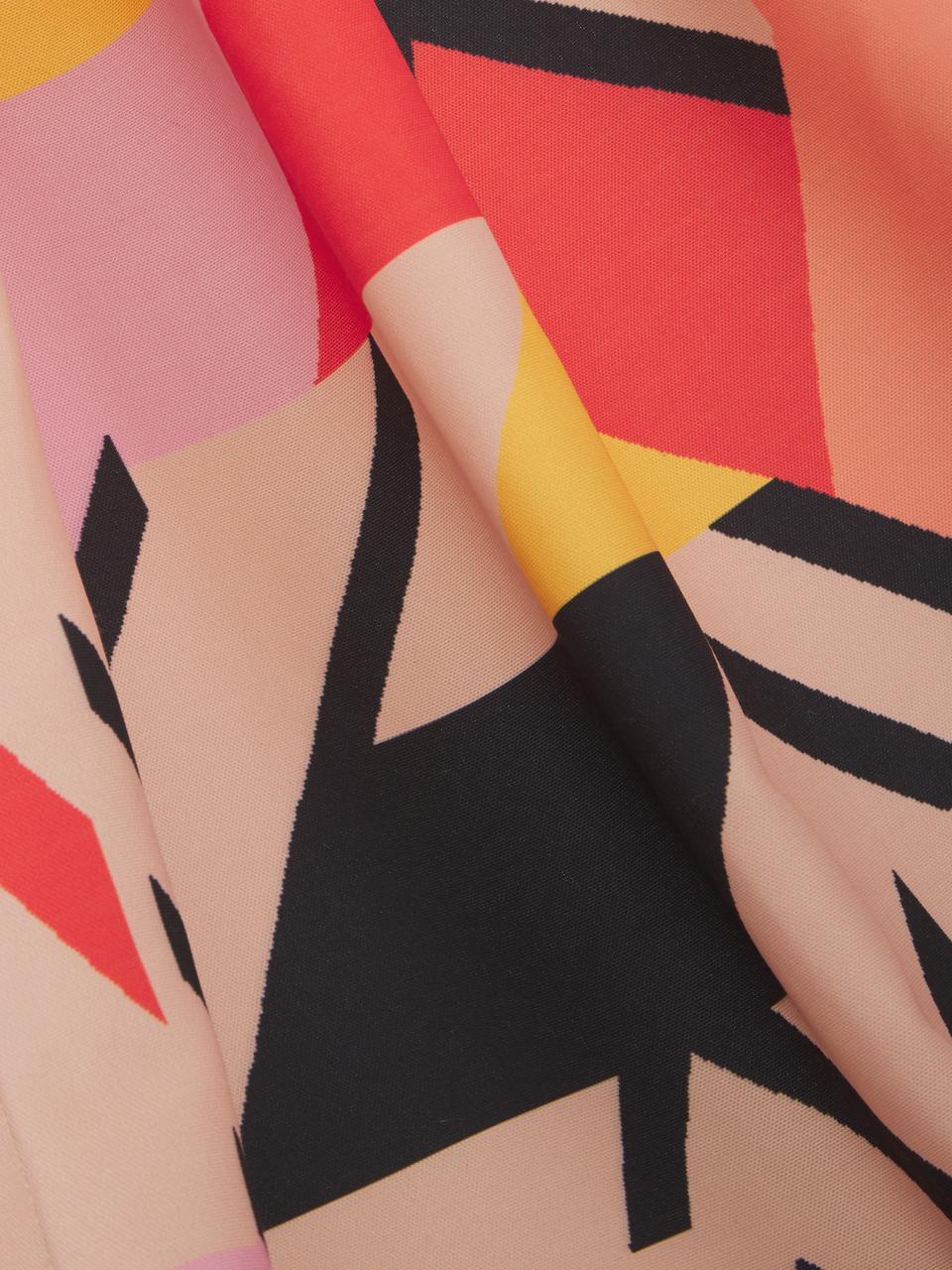 Hängematte Arti, Polyester, Rosa, Orange, Rot, Schwarz, B 80 x L 180