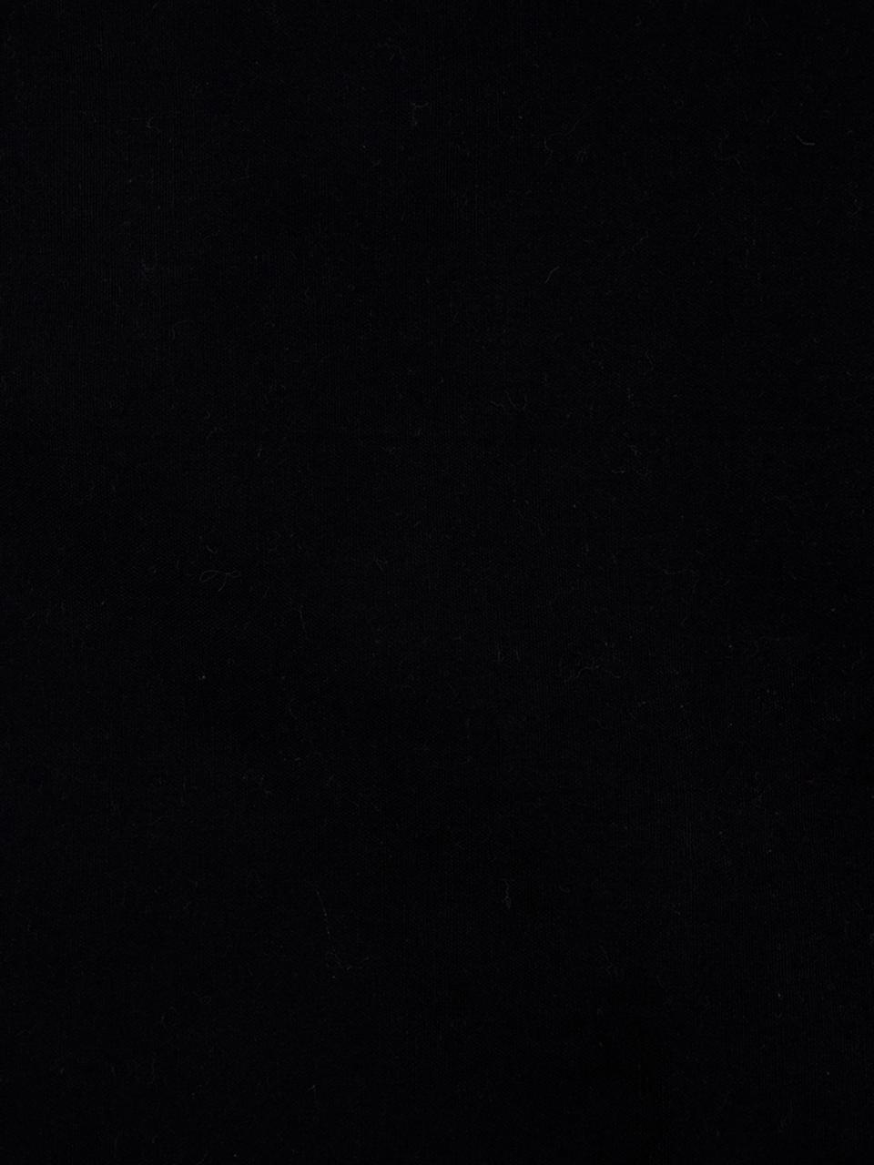 Federa arredo ricamata Leya, 55% cotone, 45% viscosa, Nero, multicolore, Larg. 45 x Lung. 45 cm