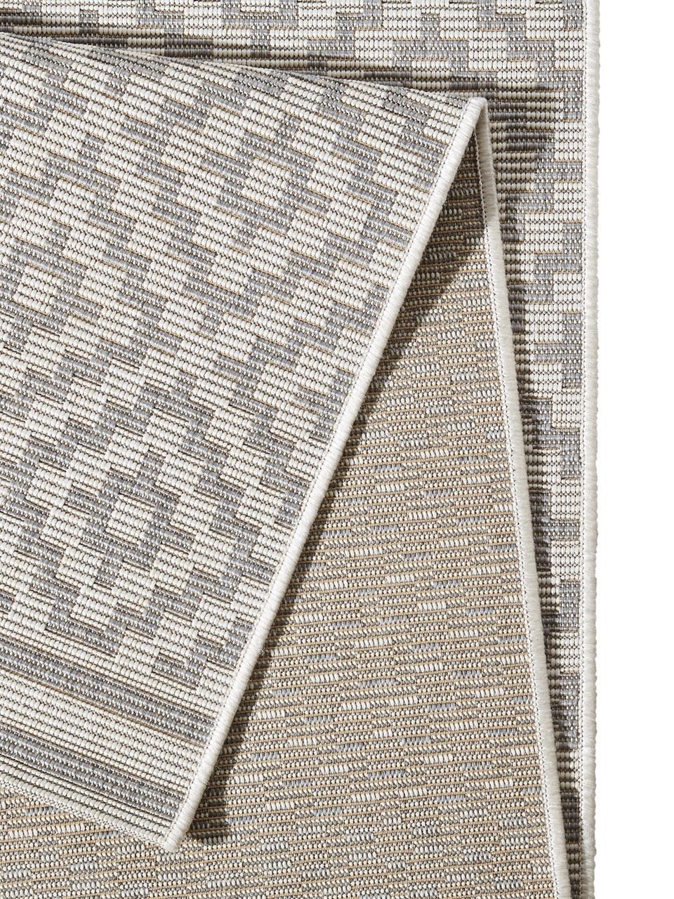 Tapis d'extérieur gris Meadow Raute, Gris, beige