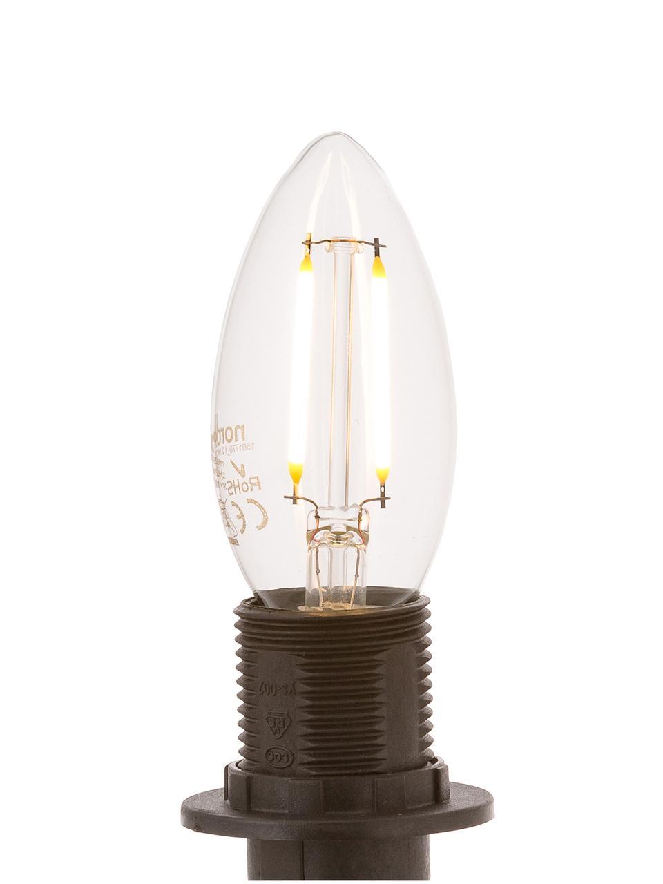 Ampoules LED Vel (E14-2,5W), 5pièces, Transparent