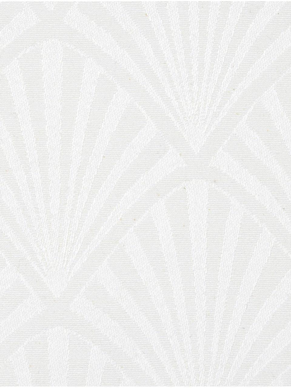 Serwetka z tkaniny Celine, 4szt., Biały, S 40 x D 40 cm
