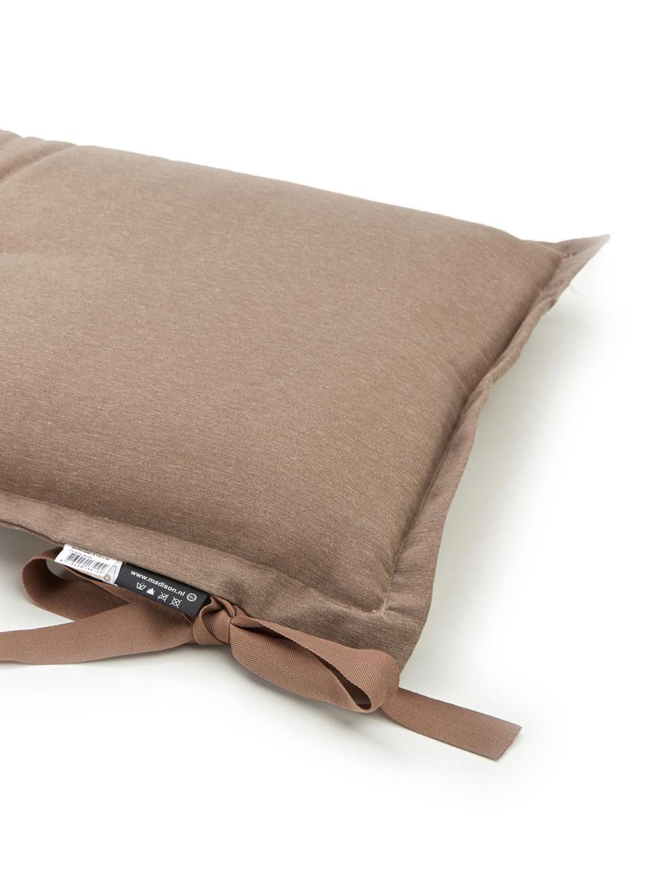 Nakładka na ławkę Panama, Tapicerka: 50% bawełna, 45% polieste, Taupe, S 48 x D 120 cm