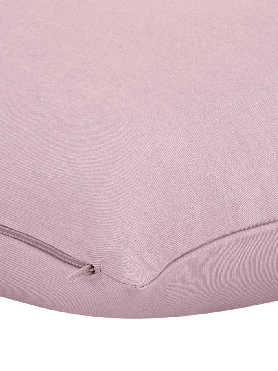 Federa arredo in cotone rosa Mads, 100% cotone, Rosa, Larg. 40 x Lung. 40 cm