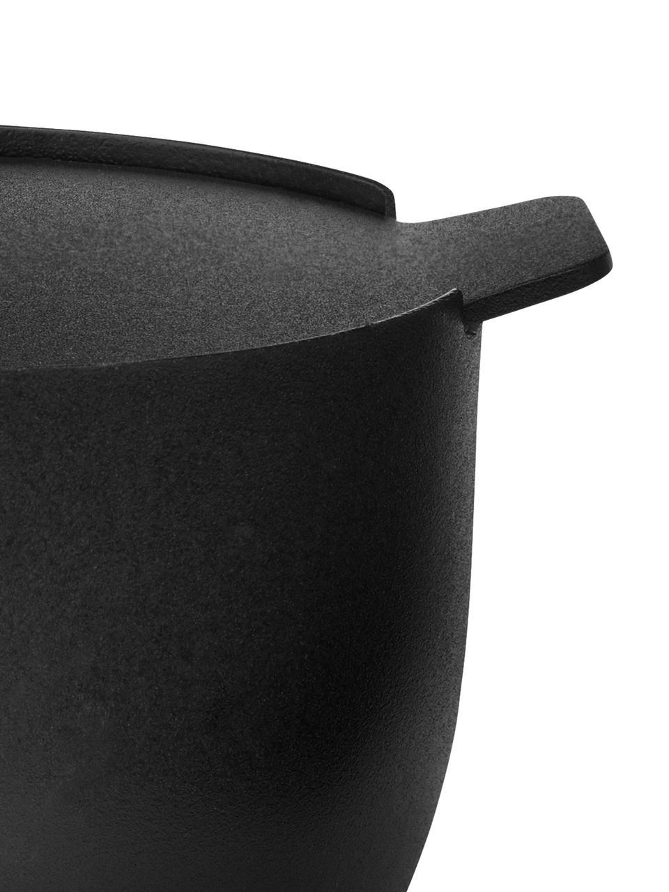 Cukiernica Collar, Stal nierdzewna z powłoką teflonową, Czarny, Ø 8 x W 6 cm