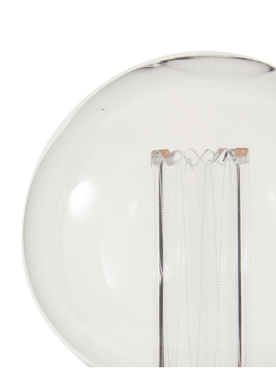 E27 XL-Leuchtmittel, 2.5W, dimmbar, warmweiß, 1 Stück, Leuchtmittelschirm: Glas, Leuchtmittelfassung: Messing, Bernsteinfarben, Ø 10 x H 15 cm