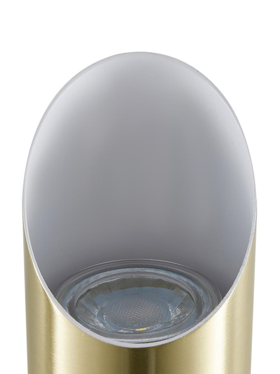 Wandleuchte Renee in Gold, Lampenschirm: Metall, gebürstet, Goldfarben,matt, 7 x 28 cm