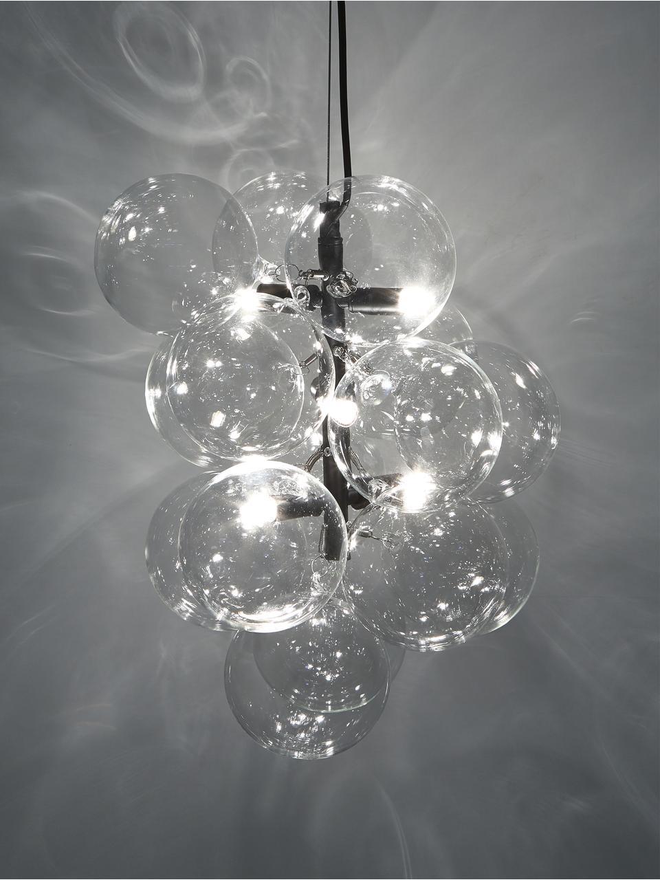 Designové závěsné svítidlo Bubbles, Černá