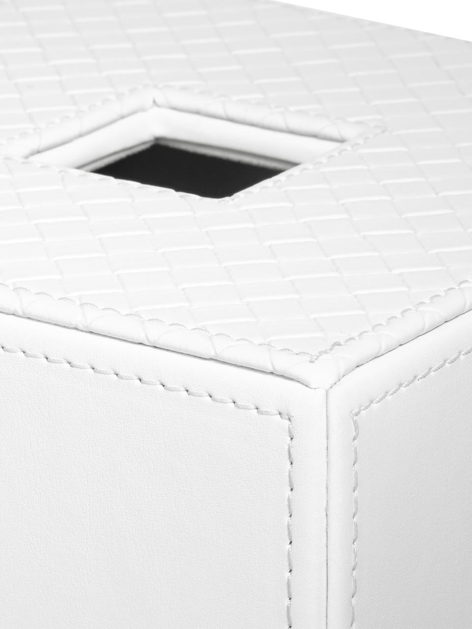 Boîte à mouchoirs Polly, Blanc pur