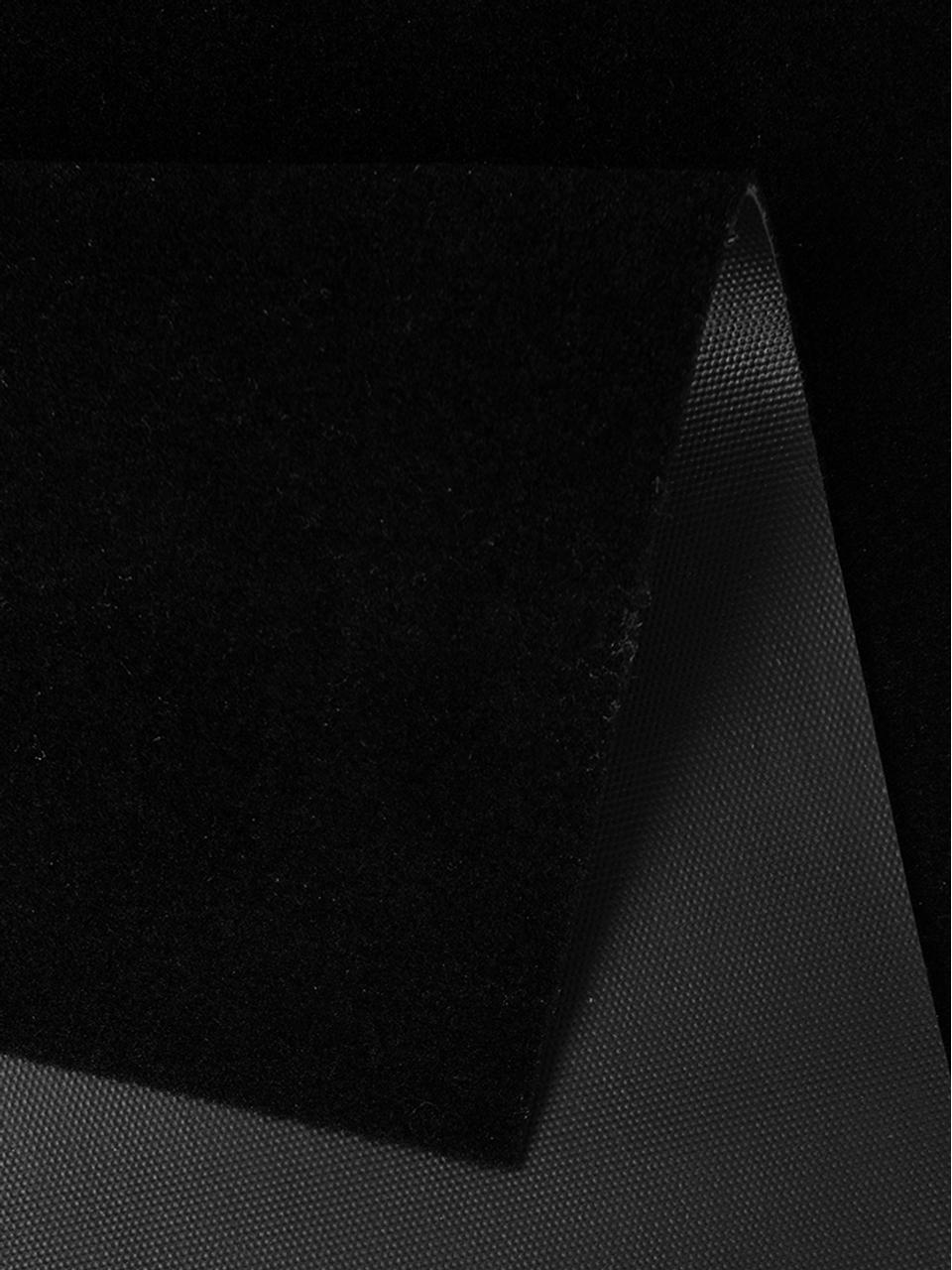 Waschbarer Küchenläufer Cooking with Love, rutschfest, Oberseite: 100% Polyamid, Unterseite: Gummi, Schwarz, Weiß, 50 x 150 cm