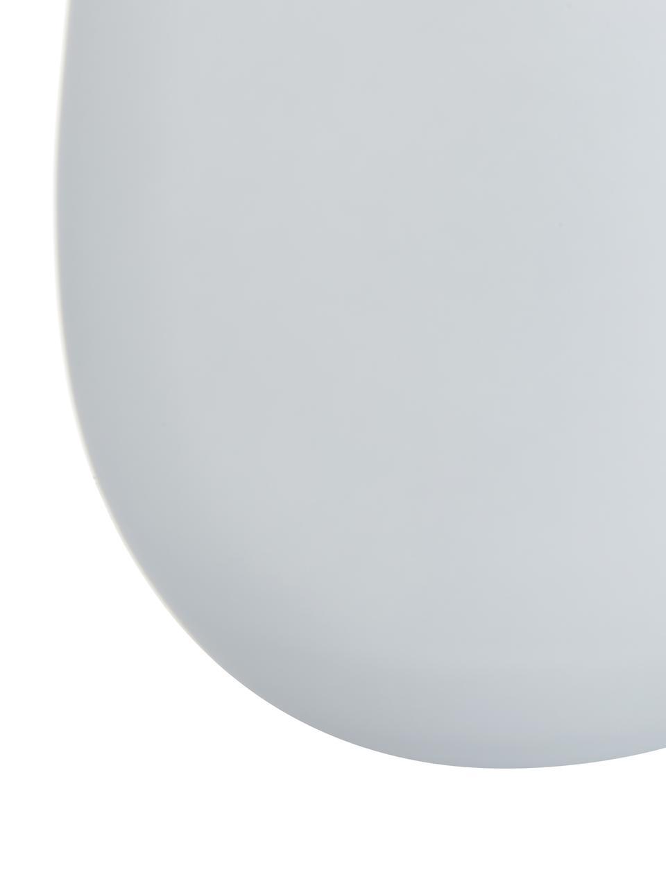 Kristall-Longdrinkgläser Elements in Weiß/Gold, 6er-Set, Kristallglas, beschichtet, Weiß, Messingfarben, Ø 9 x H 12 cm
