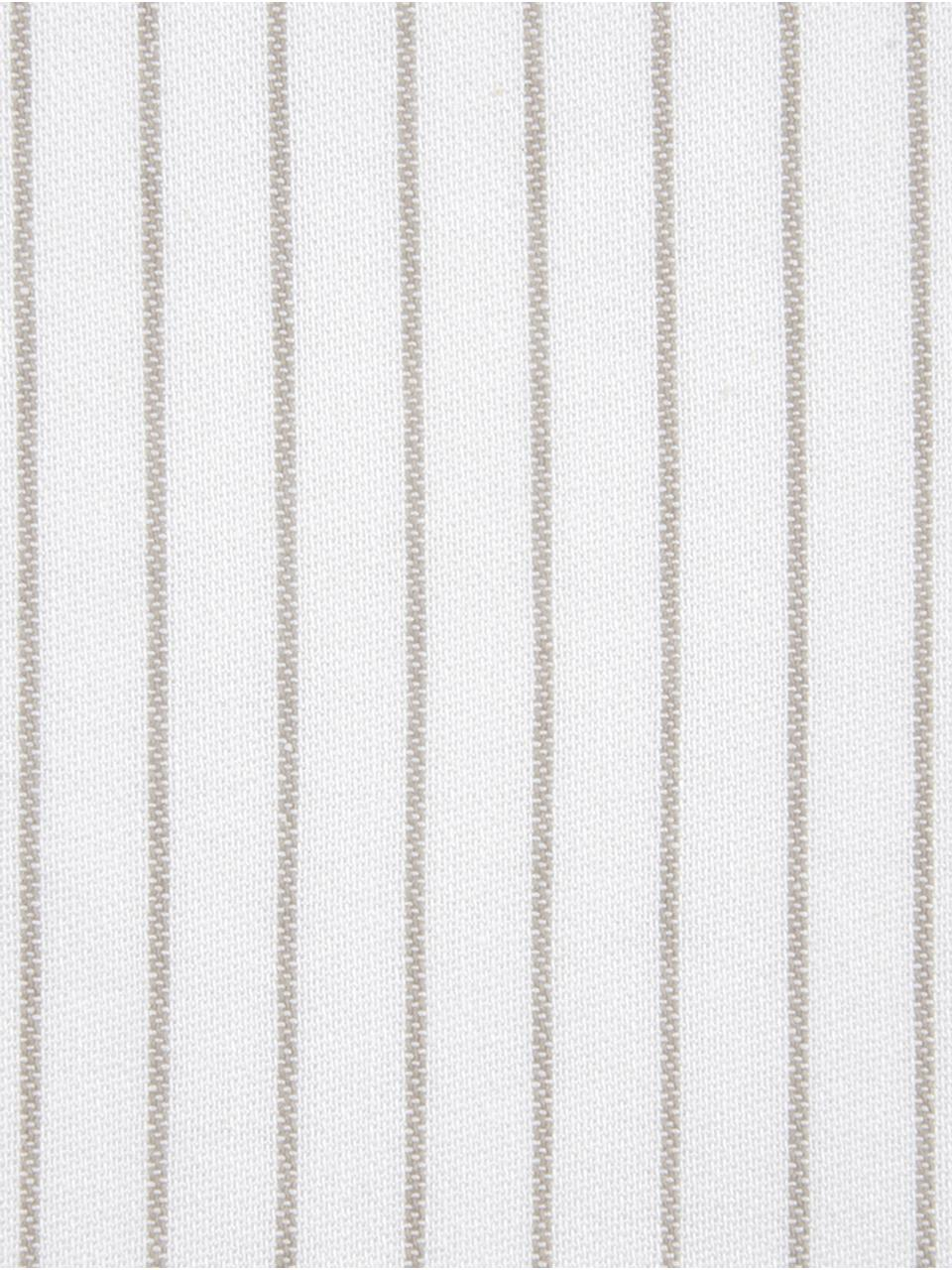 Tovaglietta americana Nicole 2 pz, Cotone, Bianco, beige, Larg. 40 x Lung. 50 cm