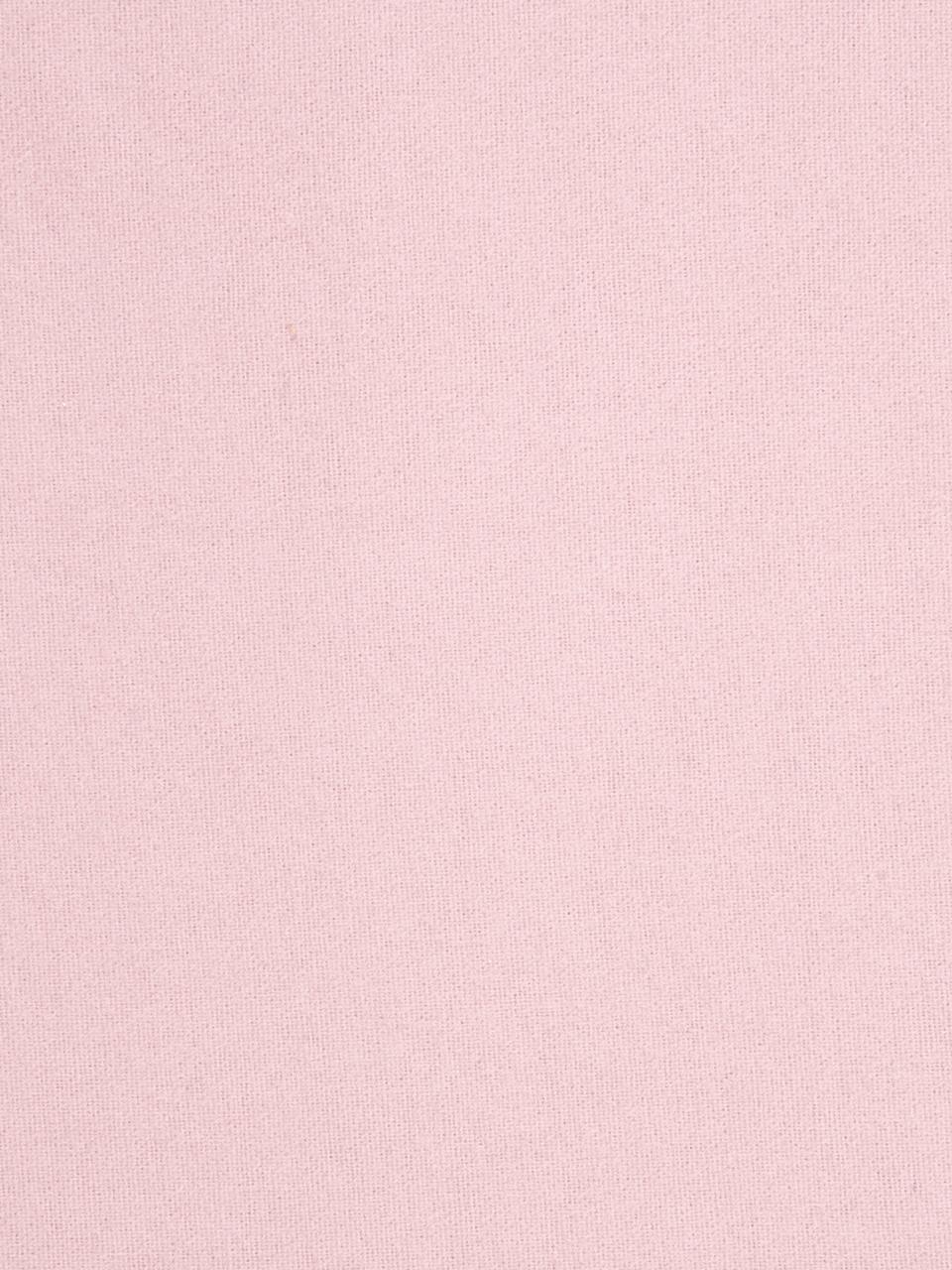 Lenzuolo con angoli in flanella Biba, Tessuto: flanella La flanella è un, Rosa, Larg. 180 x Lung. 200 cm
