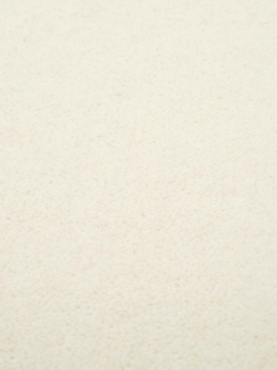 Tappeto in lana beige Ida, Retro: 60% juta, 40% poliestere, Beige, Larg. 300 x Lung. 400 cm (taglia XL)