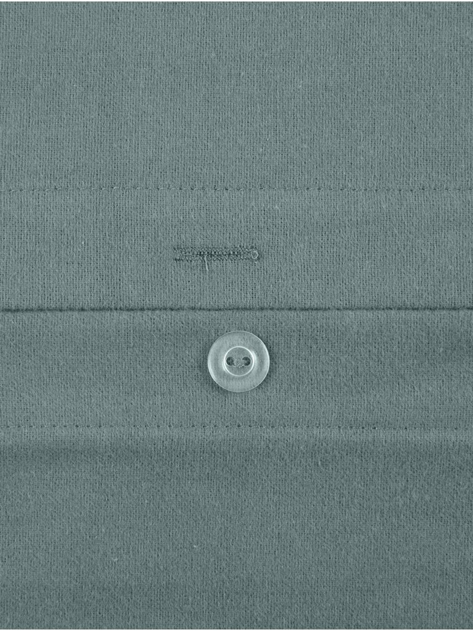 Flanell-Kissenbezüge Biba in Grün, 2 Stück, Webart: Flanell Flanell ist ein s, Grün, 40 x 80 cm
