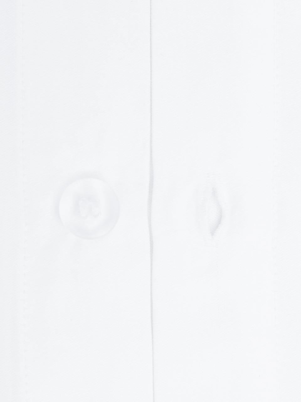 Baumwollsatin-Kissenbezüge Premium in Weiß mit Stehsaum, 2 Stück, Webart: Satin Fadendichte 400 TC,, Weiß, 40 x 80 cm