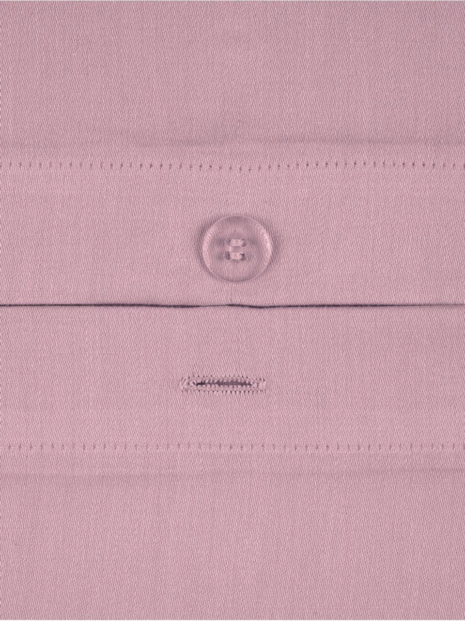 Baumwollsatin-Kissenbezüge Comfort in Mauve, 2 Stück, Webart: Satin Fadendichte 250 TC,, Mauve, 40 x 80 cm