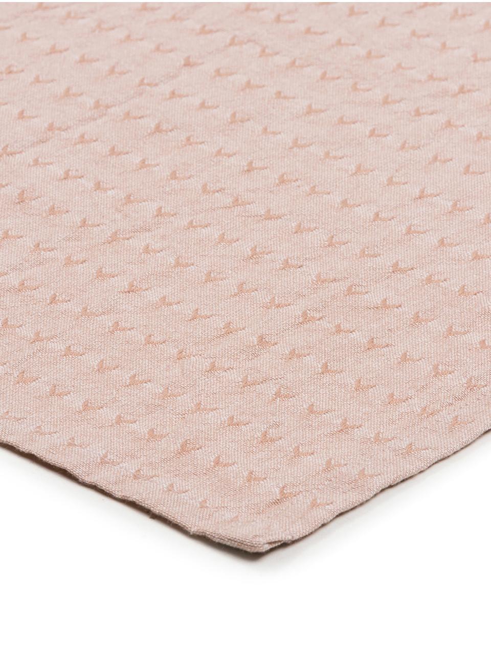 Baumwoll-Servietten Napel, 4 Stück, Baumwolle, Braun, 40 x 40 cm